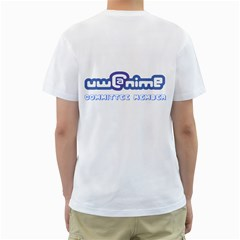 Uwanime By Brian Wu   Men s T Shirt (white) (two Sided)   556dx4y1m043   Www Artscow Com Back
