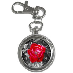 Red Rose Key Chain & Watch by jotodesign
