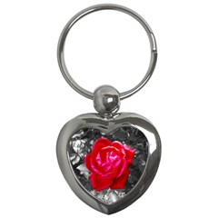 Red Rose Key Chain (heart) by jotodesign