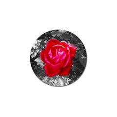 Red Rose Golf Ball Marker 10 Pack by jotodesign