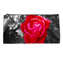 Red Rose Pencil Case by jotodesign