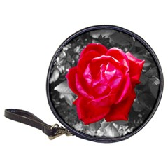 Red Rose Cd Wallet by jotodesign