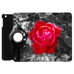 Red Rose Apple Ipad Mini Flip 360 Case by jotodesign
