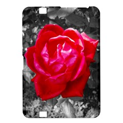 Red Rose Kindle Fire Hd 8 9  Hardshell Case by jotodesign