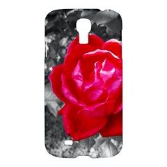 Red Rose Samsung Galaxy S4 I9500/i9505 Hardshell Case by jotodesign