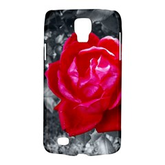 Red Rose Samsung Galaxy S4 Active (i9295) Hardshell Case by jotodesign