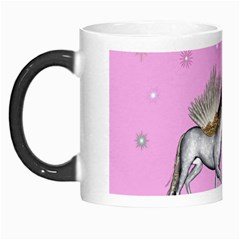 Unicorn And Fairy In A Grass Field And Sparkles Morph Mug by goldenjackal