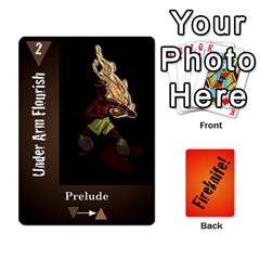 Fireknife 1 Of 2 By Peter Drake   Playing Cards 54 Designs   Hy0k4sc6w5sx   Www Artscow Com Front - Spade6