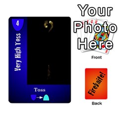Fireknife 2 Of 2 By Peter Drake   Playing Cards 54 Designs   Pwza8qxy5gxy   Www Artscow Com Front - Heart2