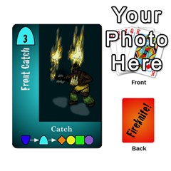 Fireknife 2 Of 2 By Peter Drake   Playing Cards 54 Designs   Pwza8qxy5gxy   Www Artscow Com Front - Heart6