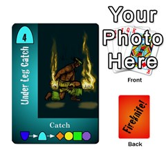 Fireknife 2 Of 2 By Peter Drake   Playing Cards 54 Designs   Pwza8qxy5gxy   Www Artscow Com Front - Heart10