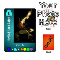 Queen Fireknife 2 Of 2 By Peter Drake   Playing Cards 54 Designs   Pwza8qxy5gxy   Www Artscow Com Front - HeartQ
