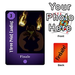 Fireknife 2 Of 2 By Peter Drake   Playing Cards 54 Designs   Pwza8qxy5gxy   Www Artscow Com Front - Diamond4