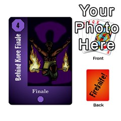 Fireknife 2 Of 2 By Peter Drake   Playing Cards 54 Designs   Pwza8qxy5gxy   Www Artscow Com Front - Diamond6