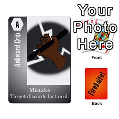 Fireknife 2 Of 2 By Peter Drake   Playing Cards 54 Designs   Pwza8qxy5gxy   Www Artscow Com Front - Diamond10