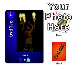 Fireknife 2 Of 2 By Peter Drake   Playing Cards 54 Designs   Pwza8qxy5gxy   Www Artscow Com Front - Spade6