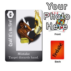 Fireknife 2 Of 2 By Peter Drake   Playing Cards 54 Designs   Pwza8qxy5gxy   Www Artscow Com Front - Club7