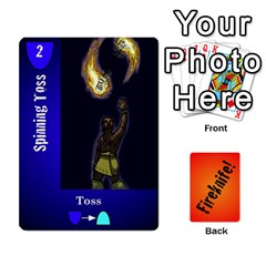 Fireknife 2 Of 2 By Peter Drake   Playing Cards 54 Designs   Pwza8qxy5gxy   Www Artscow Com Front - Spade8