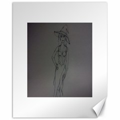 Witchy Canvas 16  X 20  (unframed) by WispsofFantasy