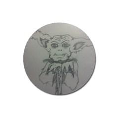 Cutie Creature Magnet 3  (round) by WispsofFantasy