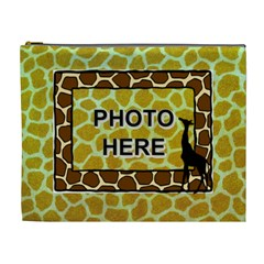 Giraffe Xl Cosmetic Bag By Joy Johns   Cosmetic Bag (xl)   Tbwy83vgqoi6   Www Artscow Com Front