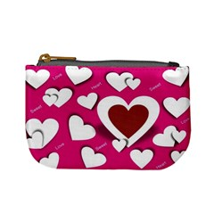 Valentine Hearts  Coin Change Purse by Colorfulart23