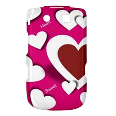Valentine Hearts  BlackBerry Torch 9800 9810 Hardshell Case  by Colorfulart23