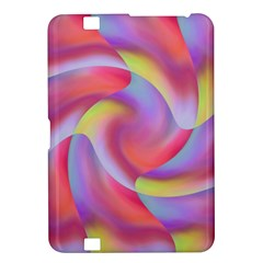 Colored Swirls Kindle Fire Hd 8 9  Hardshell Case
