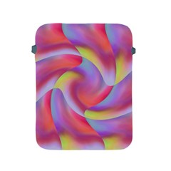 Colored Swirls Apple Ipad Protective Sleeve by Colorfulart23