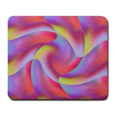 Colored Swirls Large Mouse Pad (rectangle) by Colorfulart23