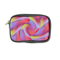 Colored Swirls Coin Purse by Colorfulart23