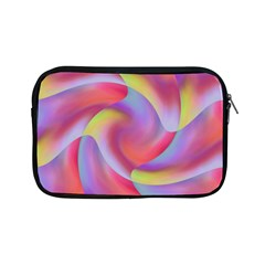 Colored Swirls Apple Ipad Mini Zippered Sleeve by Colorfulart23