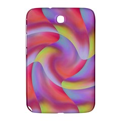 Colored Swirls Samsung Galaxy Note 8 0 N5100 Hardshell Case  by Colorfulart23