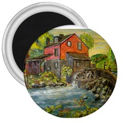 Daniels Mill   Ave Hurley   3  Button Magnet by ArtRave2