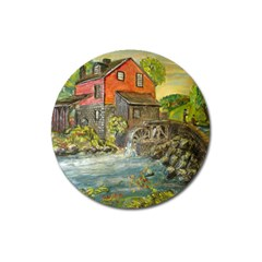 Daniels Mill   Ave Hurley   Magnet 3  (round) by ArtRave2