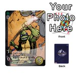 TMNT 1 - Playing Cards 54 Designs