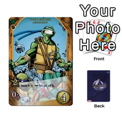 Tmnt 2 By Mark   Playing Cards 54 Designs   O1fyl55k22nd   Www Artscow Com Front - Diamond4
