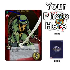 Tmnt 2 By Mark   Playing Cards 54 Designs   O1fyl55k22nd   Www Artscow Com Front - Diamond8
