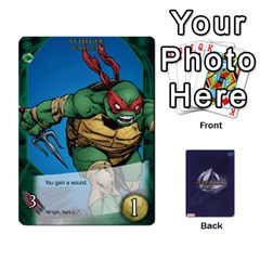 Ace Tmnt 2 By Mark   Playing Cards 54 Designs   O1fyl55k22nd   Www Artscow Com Front - ClubA