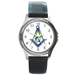 S-C GMOTMS Round Metal Watch