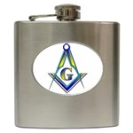 S-C GMOTMS Hip Flask (6 oz)