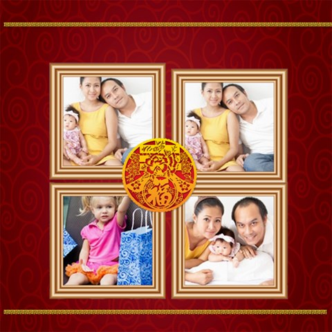 Chinese New Year By Ch   Scrapbook Page 8  X 8    N69tzhwh7ggs   Www Artscow Com 8 x8 Scrapbook Page - 1