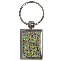Elegant Retro Art Key Chain (rectangle) by Colorfulart23