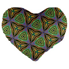 Elegant Retro Art 19  Premium Heart Shape Cushion by Colorfulart23