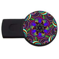Sw 1GB USB Flash Drive (Round) by Colorfulart23