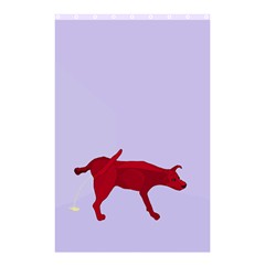 There Is A Dog     Shower Curtain 48  X 72  (small) by Contest1720196