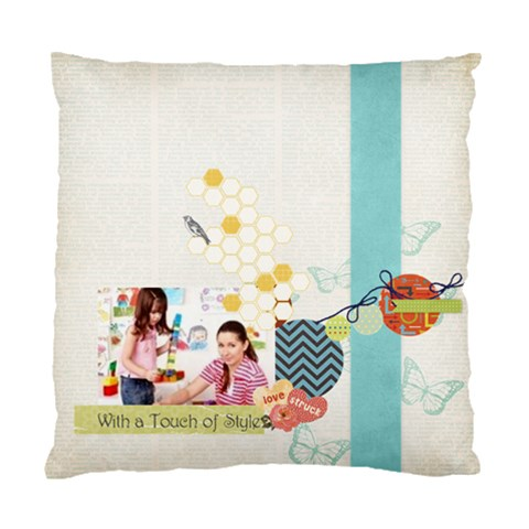 Kids By Kids   Standard Cushion Case (one Side)   Um1h3elimkjm   Www Artscow Com Front