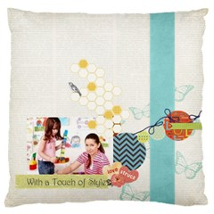 Kids By Kids   Large Cushion Case (two Sides)   B0cbq3hae7x8   Www Artscow Com Front