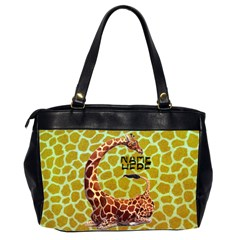Giraffe Oversize Office Bag By Joy Johns   Oversize Office Handbag (2 Sides)   Bi94elgw2fsm   Www Artscow Com Back