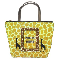 Giraffe Bucket Bag By Joy Johns   Bucket Bag   Duaoglvjel92   Www Artscow Com Front